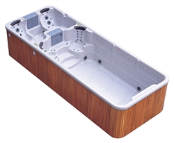 Integrity Spas Grand Bahama Dual Zone Swim Spa Hot Tub
